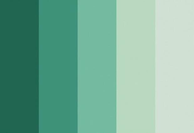 Paleta de cores com base na cor do ano